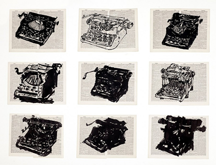 Kentridge Nine Typewriters