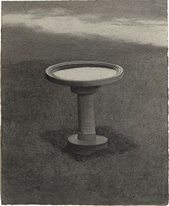 Tim Zuck Study for Bird Bath